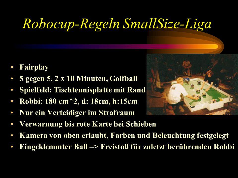 Robocup-Regeln SmallSize-Liga