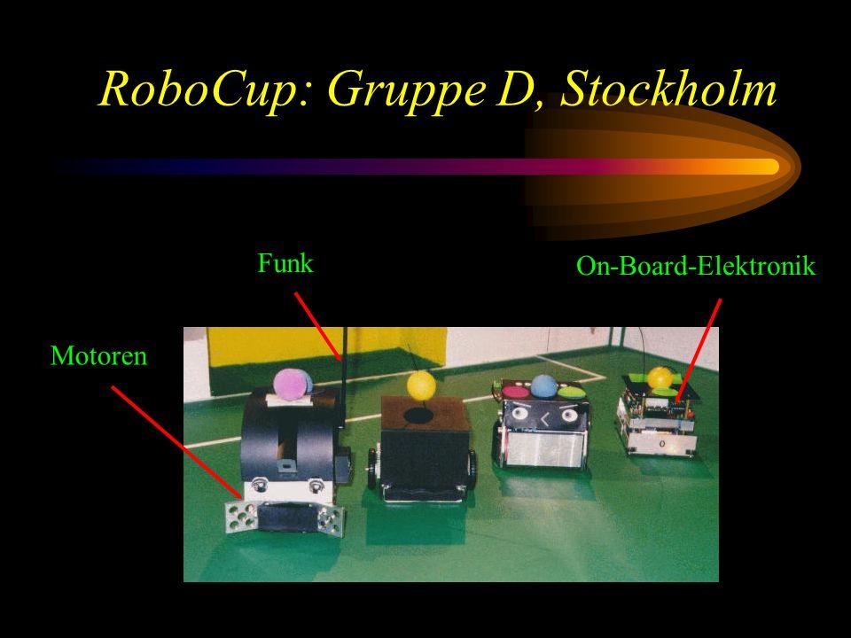 RoboCup: Gruppe D, Stockholm