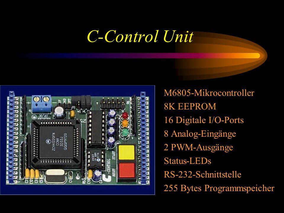C-Control Unit M6805-Mikrocontroller 8K EEPROM 16 Digitale I/O-Ports