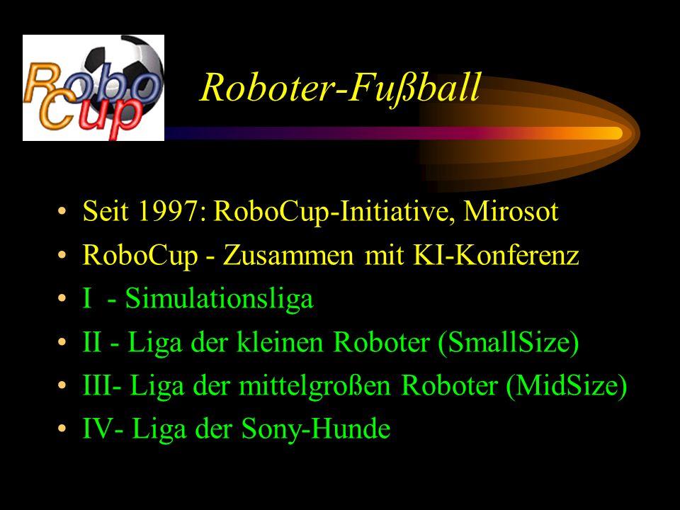 Roboter-Fußball Seit 1997: RoboCup-Initiative, Mirosot