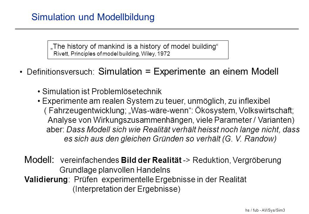 Simulation und Modellbildung