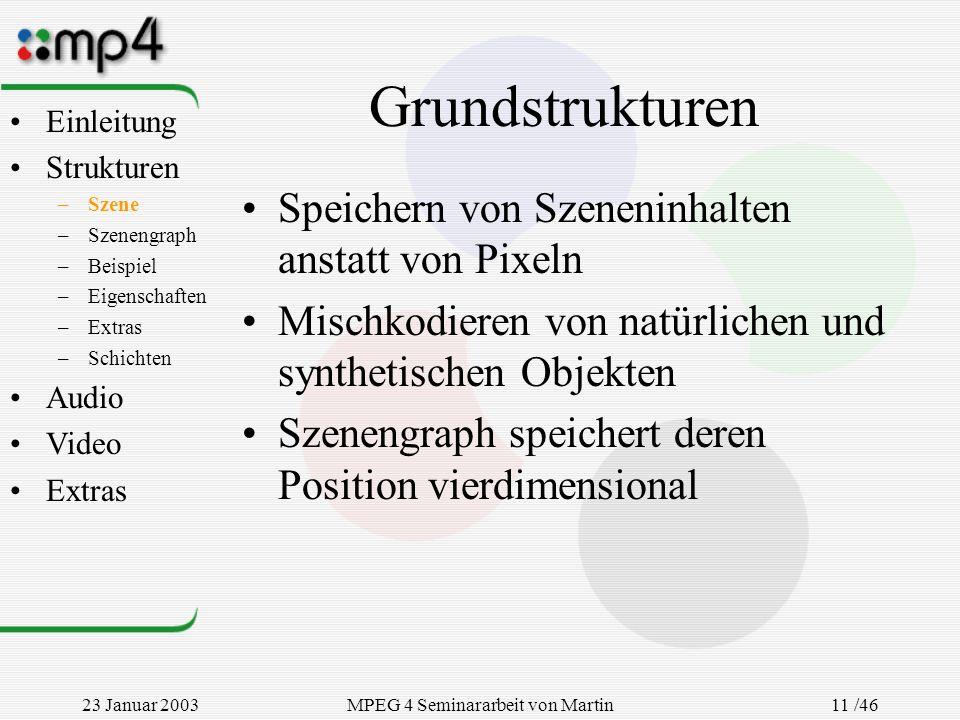MPEG 4 Seminararbeit von Martin Goralczyk