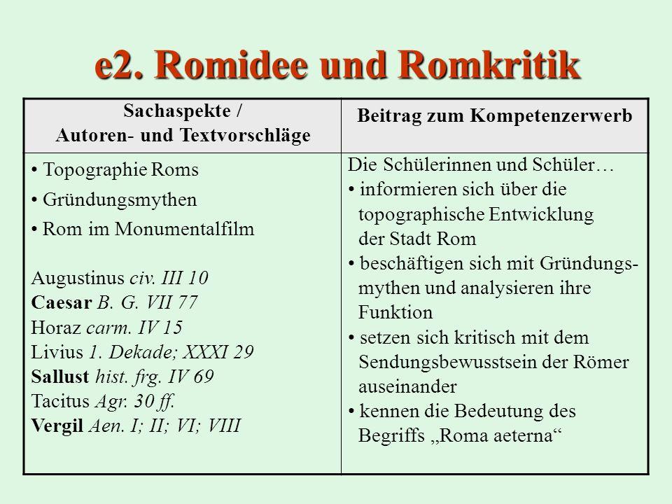 e2. Romidee und Romkritik