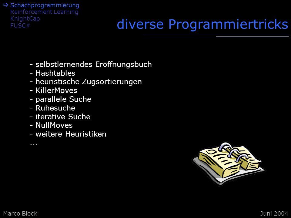 diverse Programmiertricks