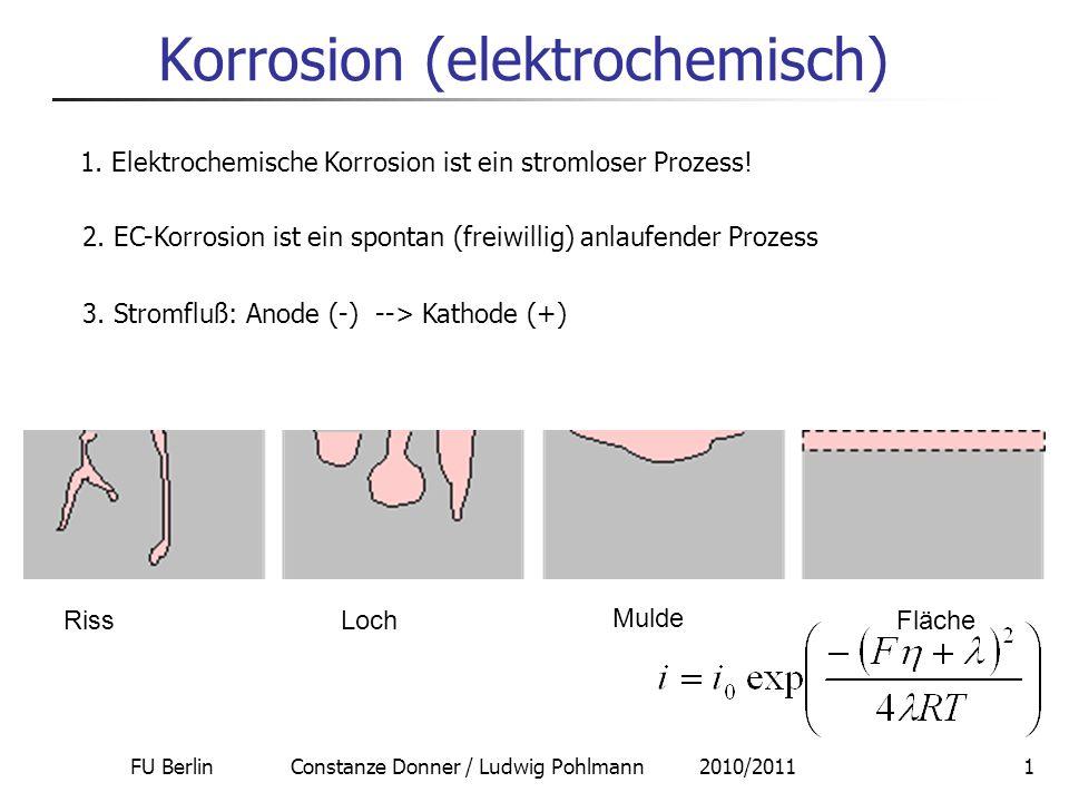 Korrosion (elektrochemisch)