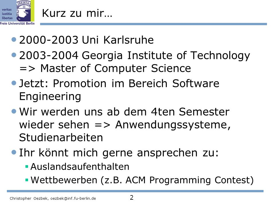 Jetzt: Promotion im Bereich Software Engineering