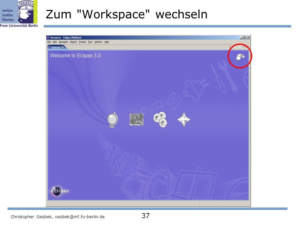 Zum Workspace wechseln
