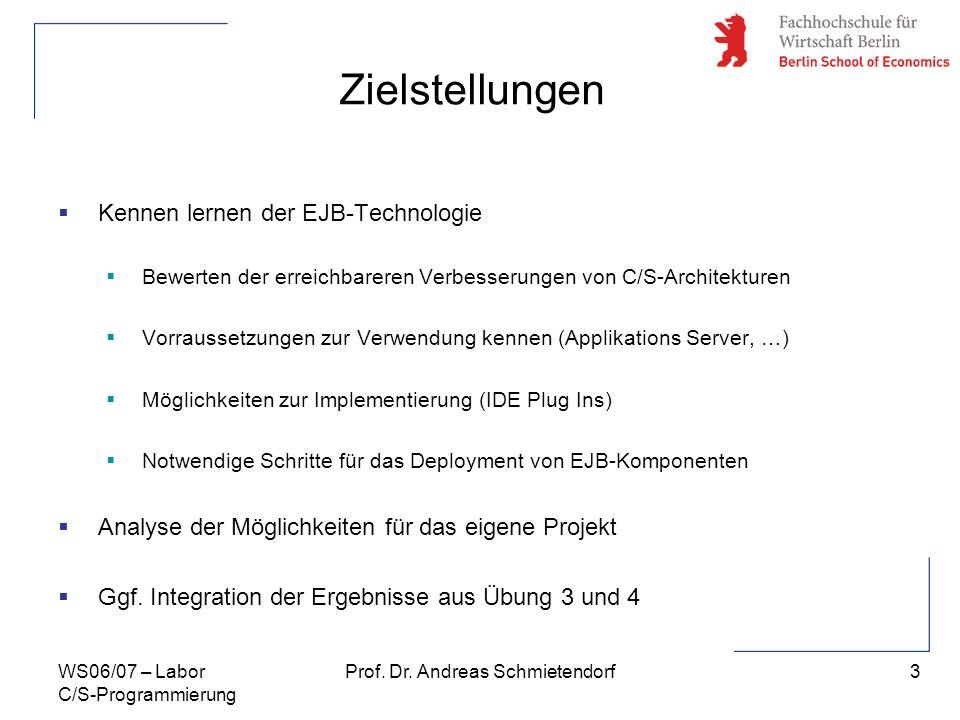 Prof. Dr. Andreas Schmietendorf
