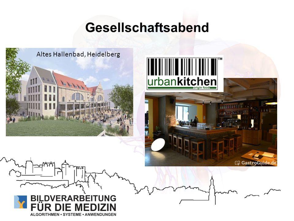 Gesellschaftsabend Altes Hallenbad, Heidelberg