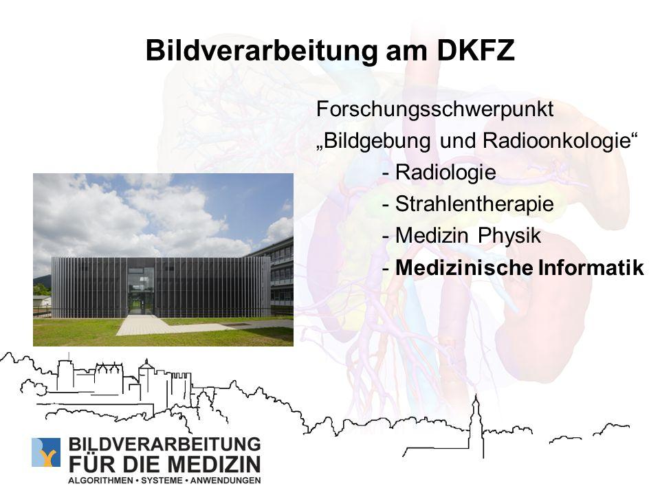 Bildverarbeitung am DKFZ
