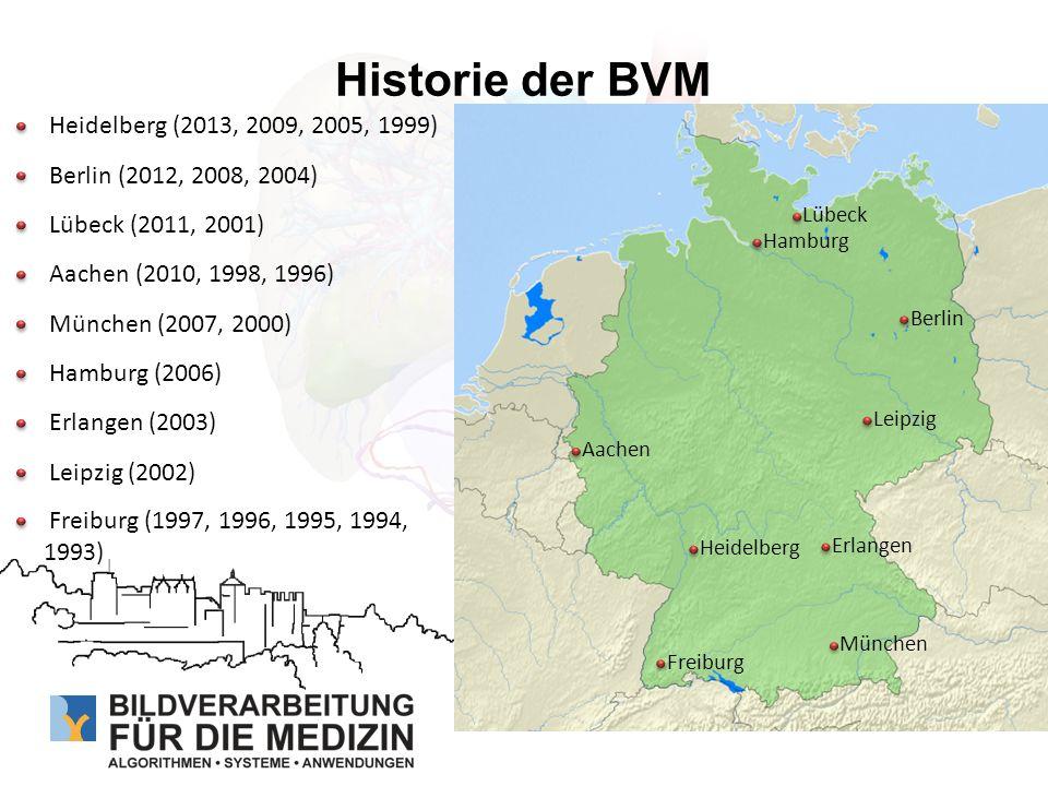 Historie der BVM Heidelberg (2013, 2009, 2005, 1999)