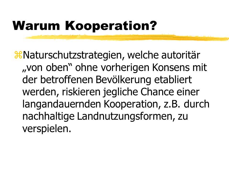 Warum Kooperation