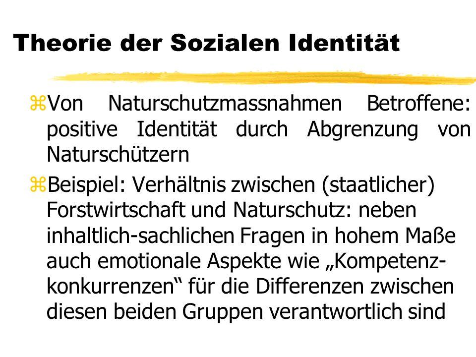 Theorie der Sozialen Identität