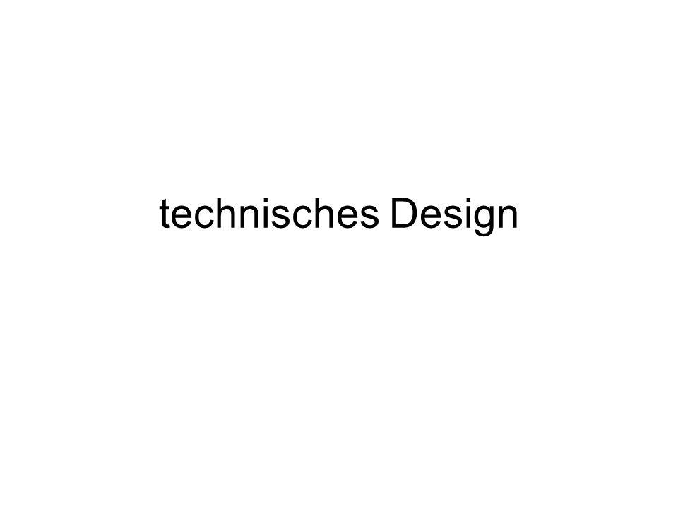 technisches Design