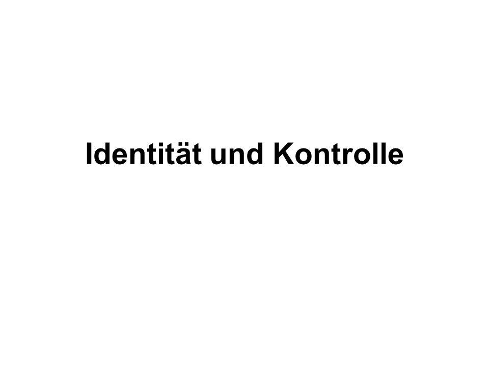 Identität und Kontrolle