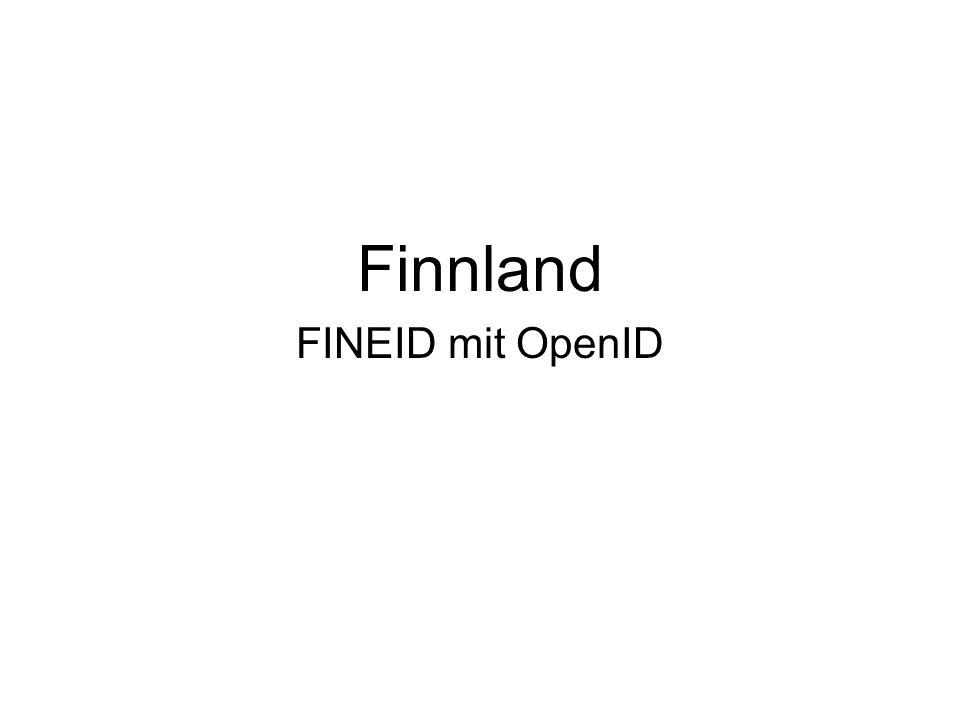 Finnland FINEID mit OpenID OpenID kann mich tracken