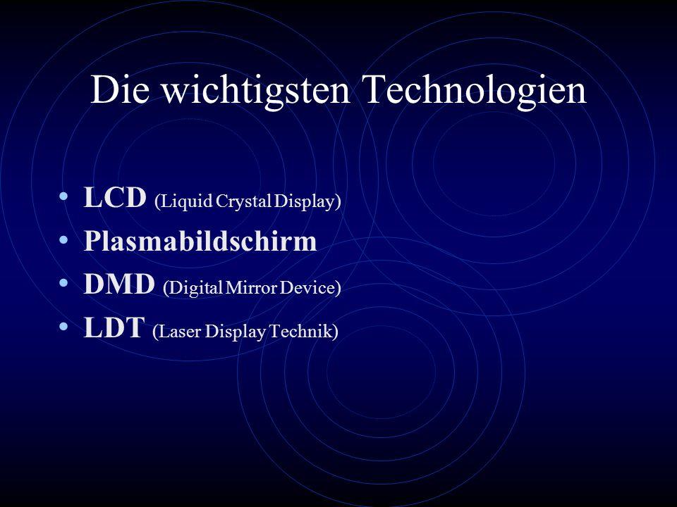 Die wichtigsten Technologien