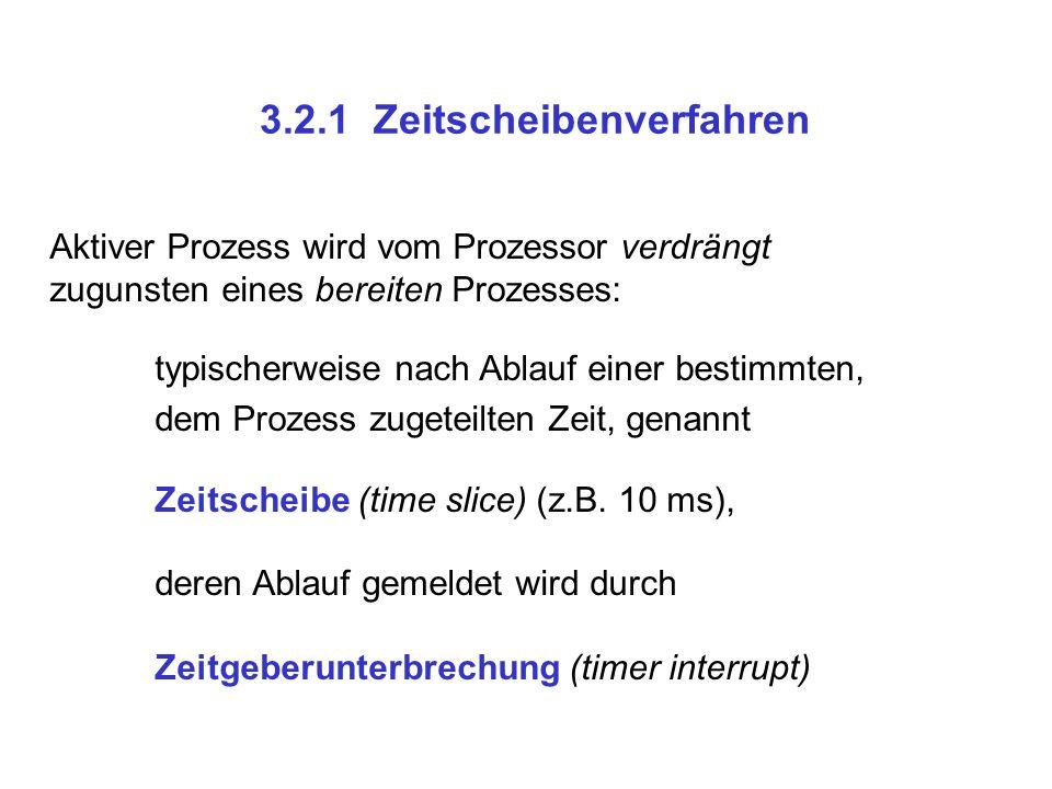 3.2.1 Zeitscheibenverfahren