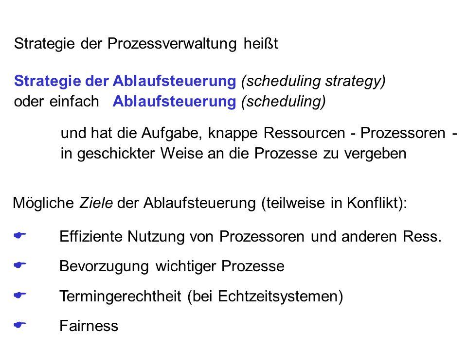 Strategie der Prozessverwaltung heißt