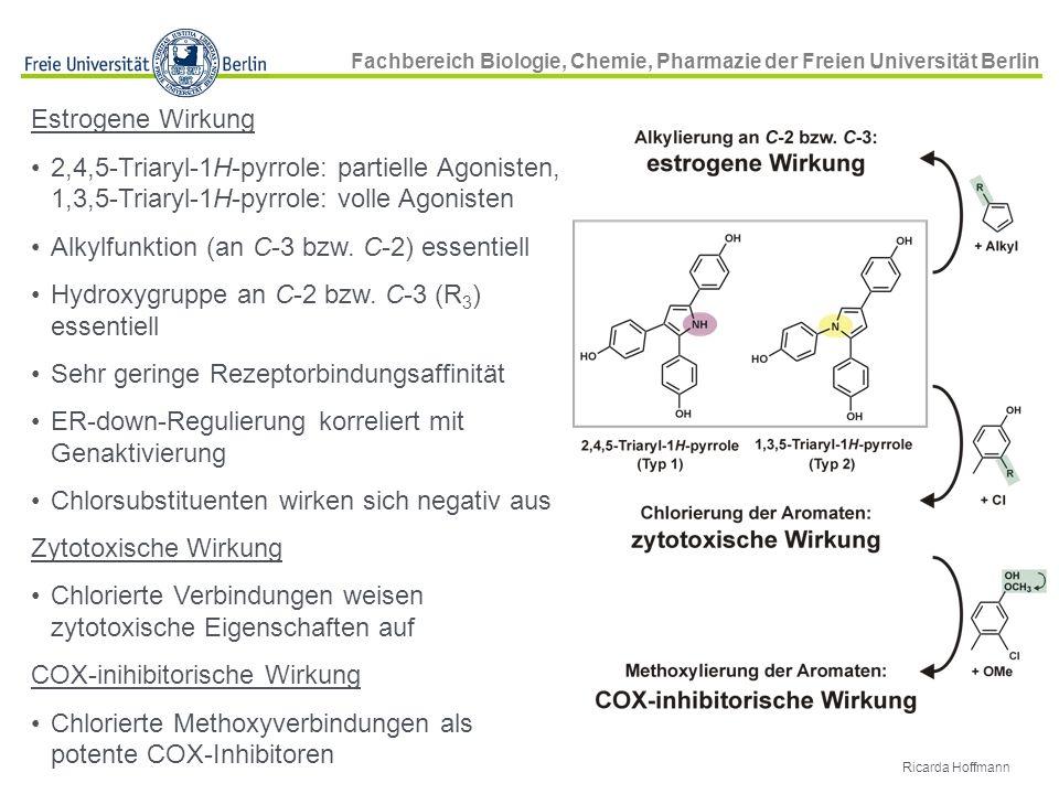 Alkylfunktion (an C-3 bzw. C-2) essentiell