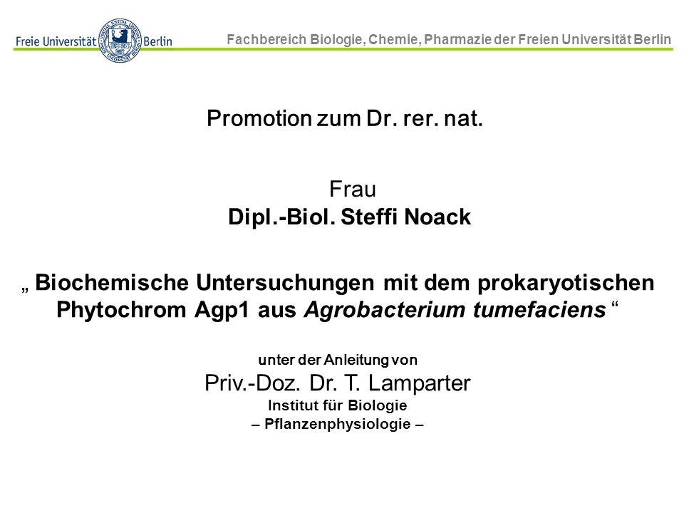 Frau Dipl.-Biol. Steffi Noack