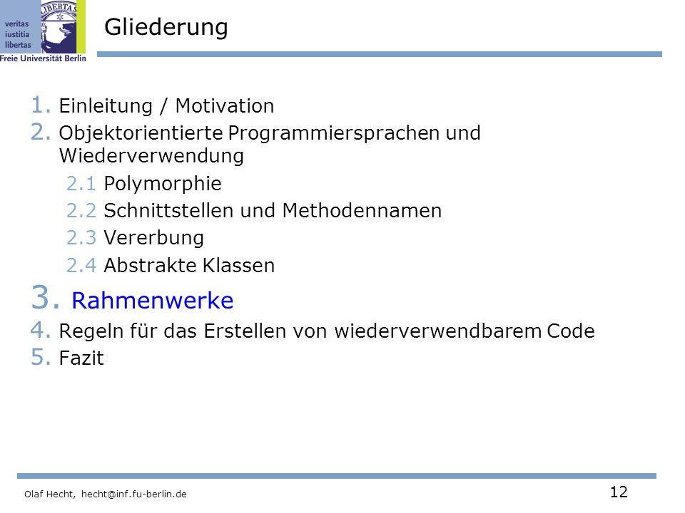Freie Universität Berlin Institut für Informatik