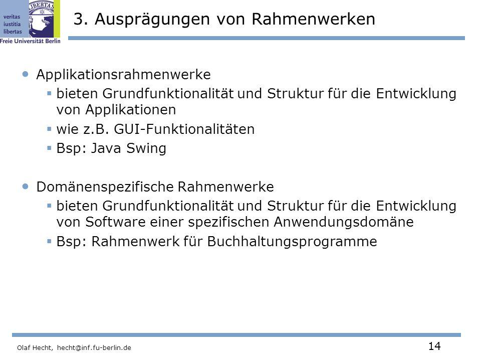 3. Ausprägungen von Rahmenwerken