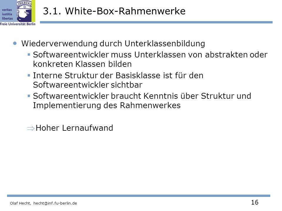 3.1. White-Box-Rahmenwerke