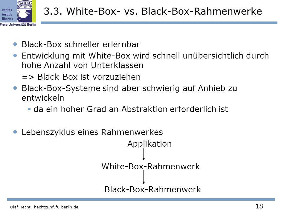 3.3. White-Box- vs. Black-Box-Rahmenwerke