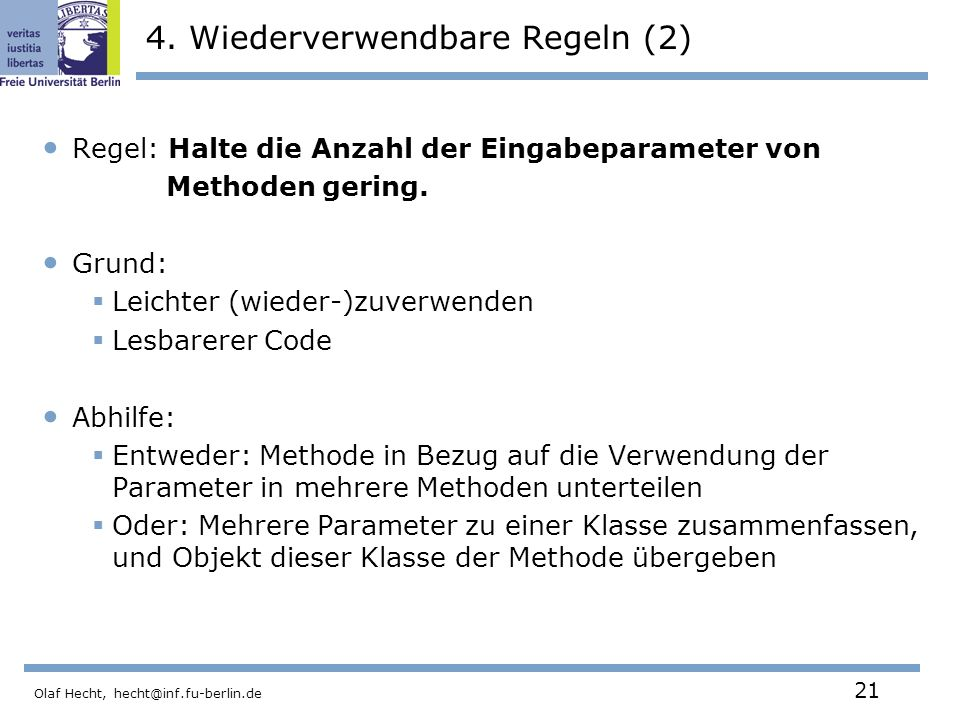 4. Wiederverwendbare Regeln (2)