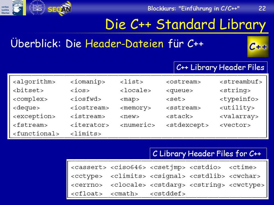 Die C++ Standard Library