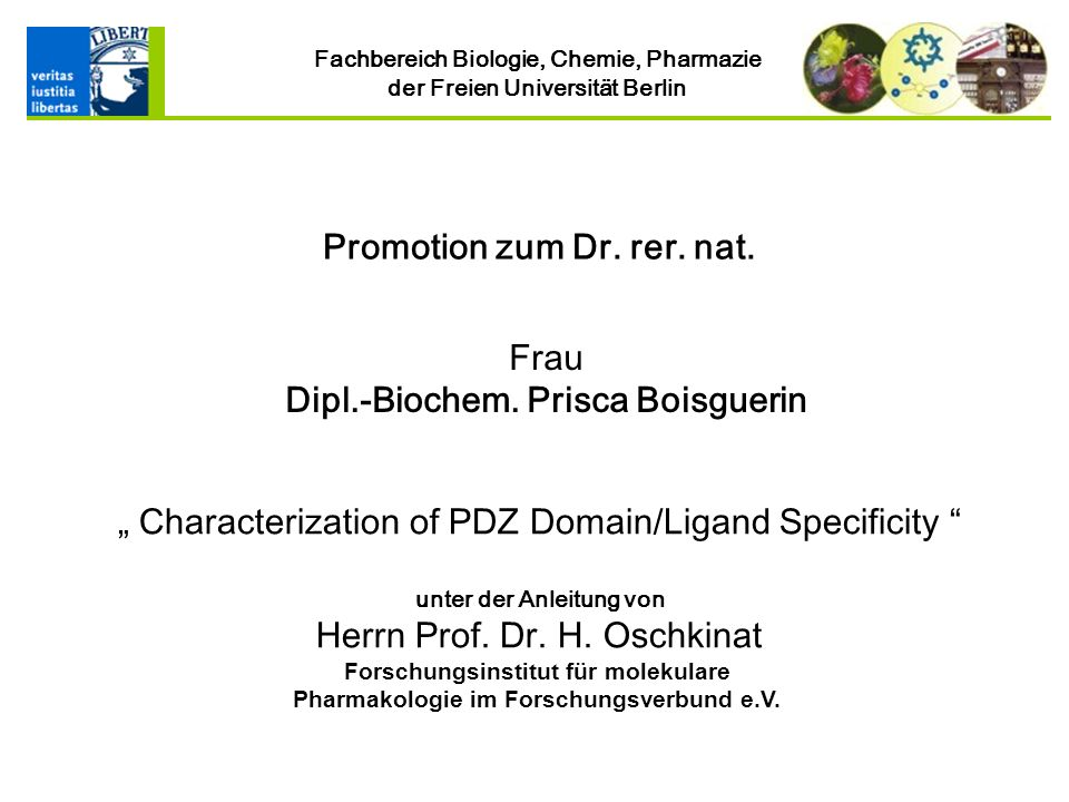 Frau Dipl.-Biochem. Prisca Boisguerin