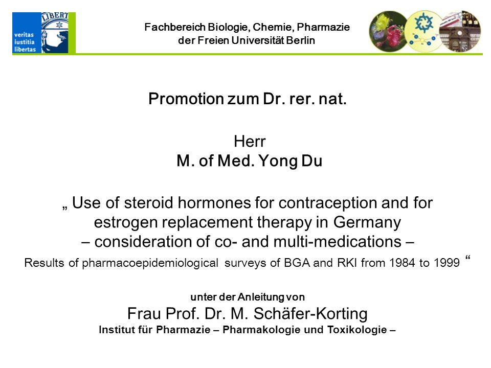 Institut für Pharmazie – Pharmakologie und Toxikologie –