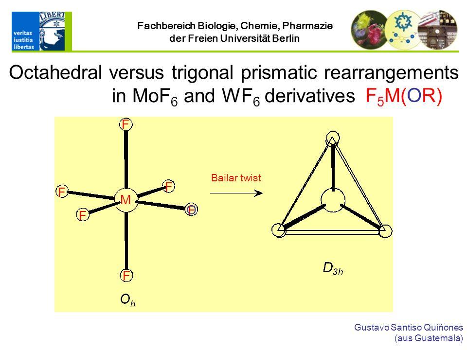 Octahedral versus trigonal prismatic rearrangements