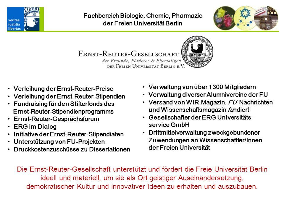 Verleihung der Ernst-Reuter-Preise