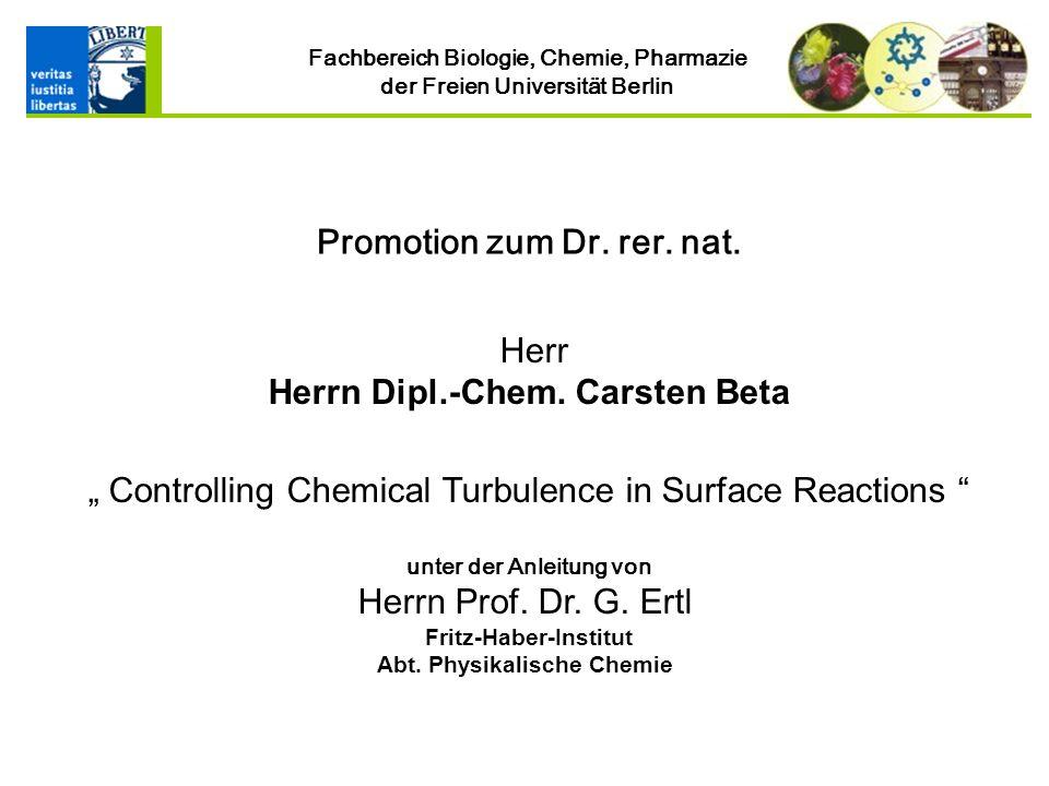 Fritz-Haber-Institut Abt. Physikalische Chemie