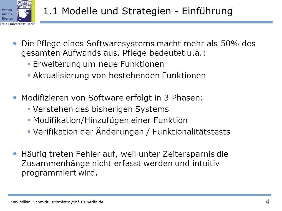 1.1 Modelle und Strategien - Einführung
