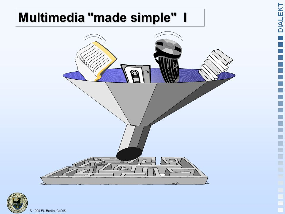 Multimedia made simple I