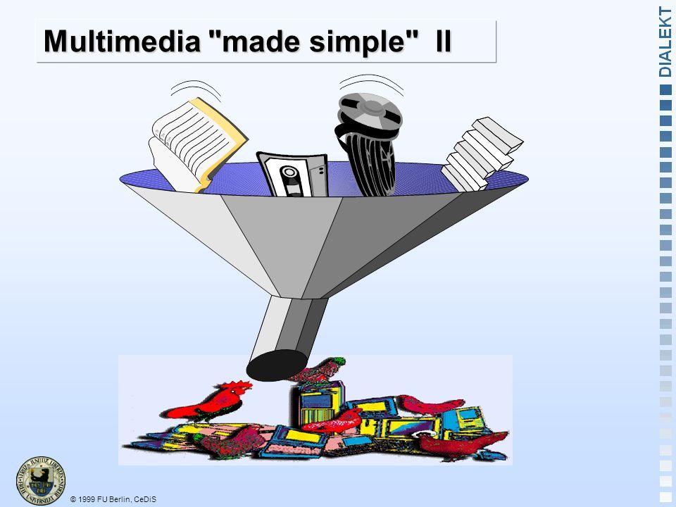 Multimedia made simple II