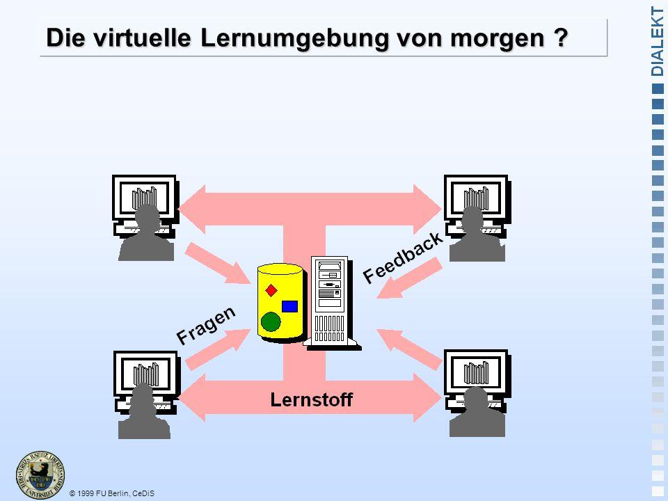 Die virtuelle Lernumgebung von morgen