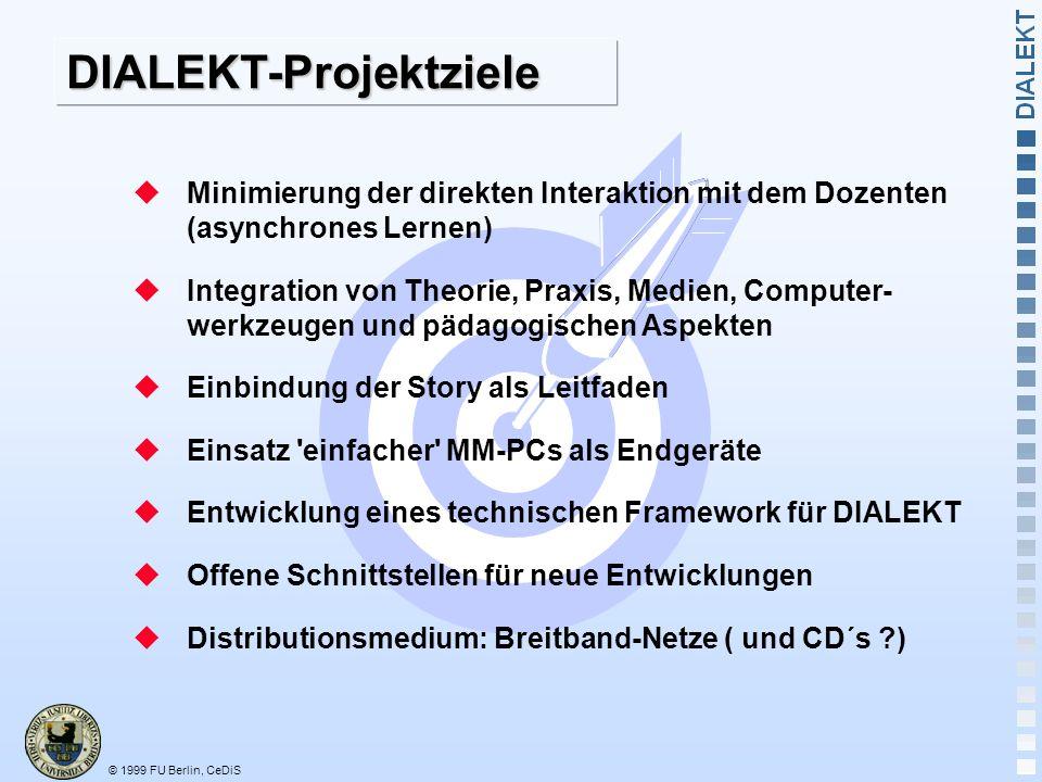 DIALEKT-Projektziele