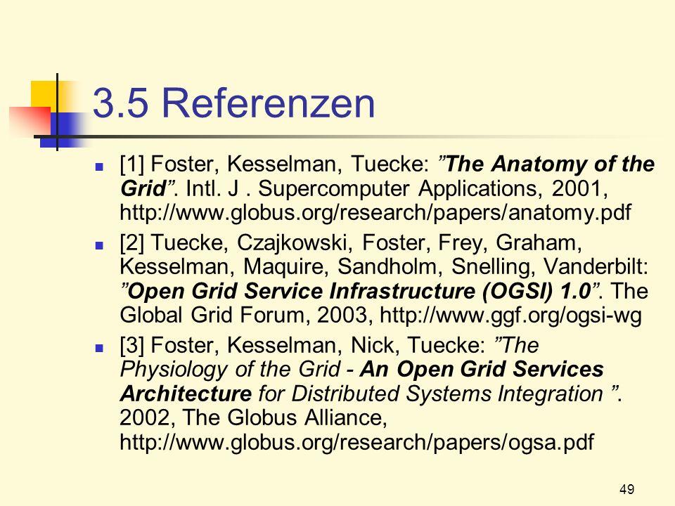 3.5 Referenzen