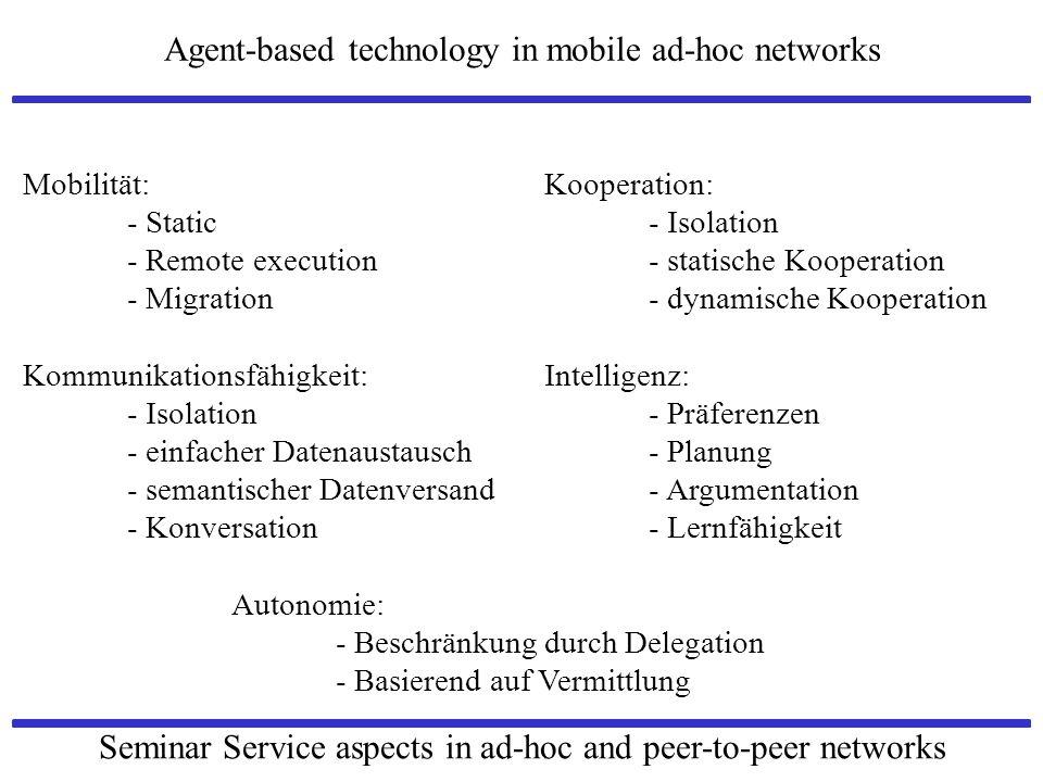 Mobilität: Kooperation: