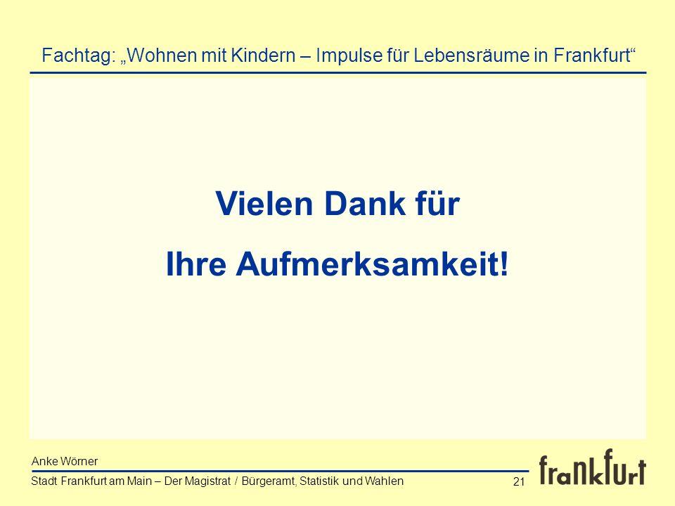 """Fachtag: """"Wohnen mit Kindern – Impulse für Lebensräume in Frankfurt"""