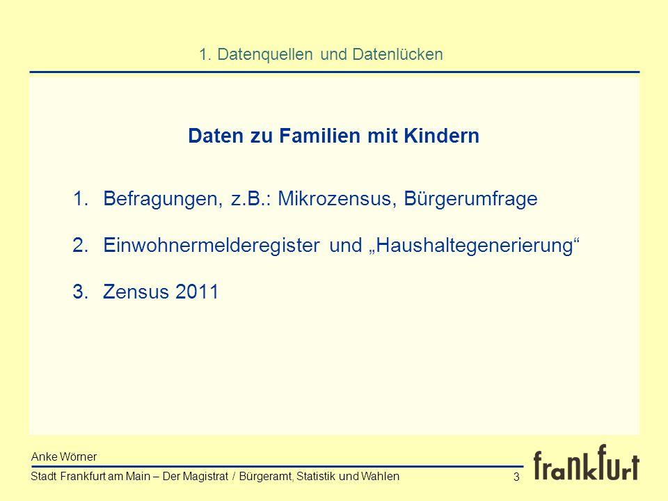 Daten zu Familien mit Kindern
