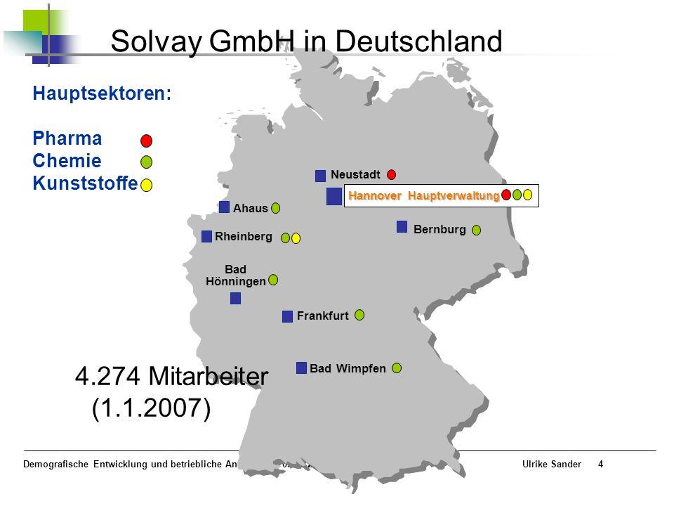 Solvay GmbH in Deutschland
