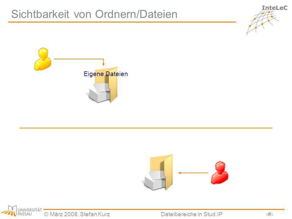 Sichtbarkeit von Ordnern/Dateien