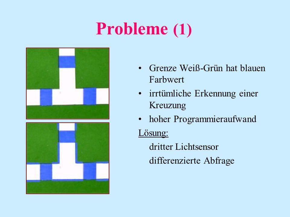 Probleme (1) Grenze Weiß-Grün hat blauen Farbwert