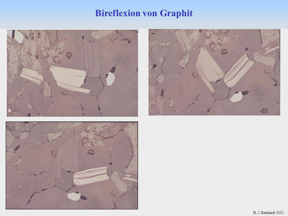 Bireflexion von Graphit