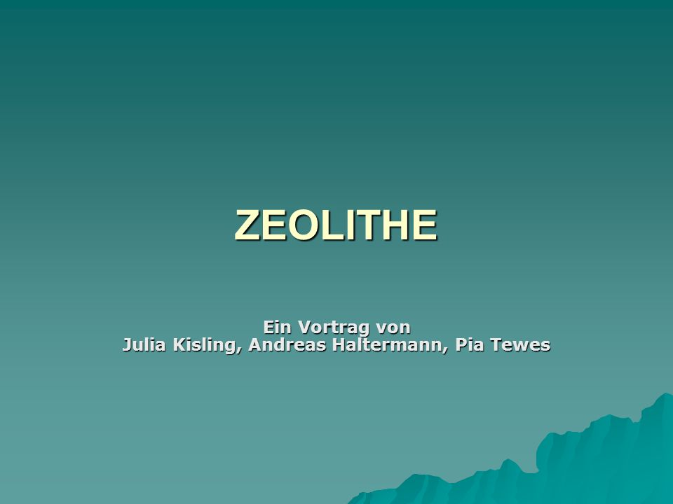 Ein Vortrag von Julia Kisling, Andreas Haltermann, Pia Tewes
